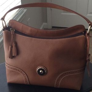 Authentic Tan Dooney and Bourke handbag, perfect.